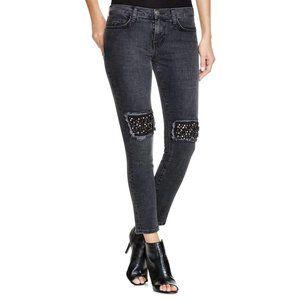 Current Elliott Stiletto Embellished Jeans